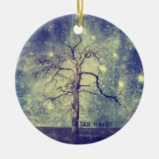 Magical Tree of the Universe Christmas Ornament