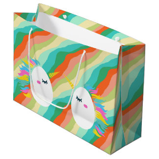 Magical Unicorn Egg Large Gift Bag