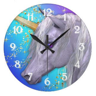 Magical Unicorn Large Clock