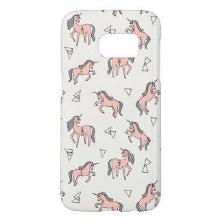 Magical Unicorn Love - Pale Pink / Andrea Lauren Samsung Galaxy S7 Case