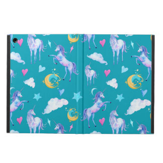 Magical Unicorn Pattern Watercolor Fantasy Design iPad Air Case