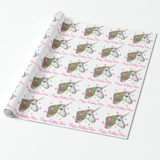 Magical Unicorn Wrapping Paper