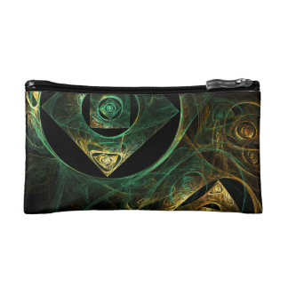 Magical Vibrations Abstract Art Cosmetics Bags