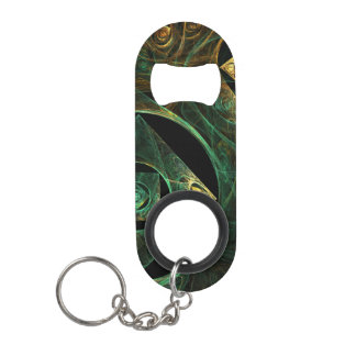 Magical Vibrations Abstract Art Keychain Bottle Opener