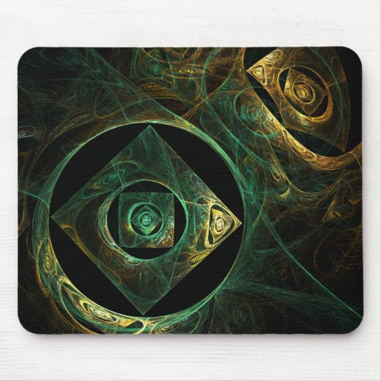 Magical Vibrations Abstract Art Mousepad