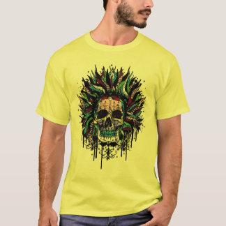 Magical Voodoo Skull Warrior T-Shirt