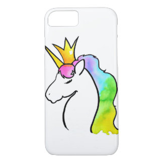 Magical Watercolor Unicorn iPhone 8/7 Case