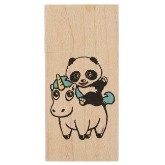 Magically cute wood USB flash drive