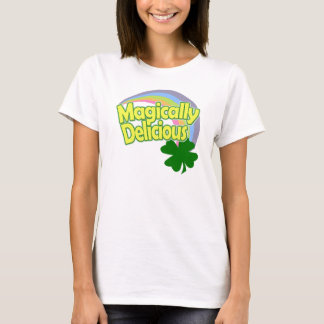 Magically Delicious Green Rainbow T-Shirt