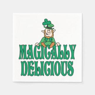 Magically Delicious Little Leprechaun Disposable Napkin