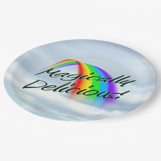 Magically Delicious Paper Plate