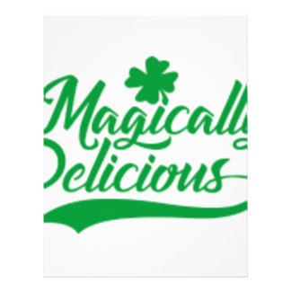 Magically Delicious St. Patrick's Day Letterhead