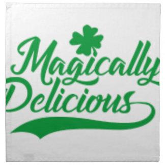 Magically Delicious St. Patrick's Day Napkin