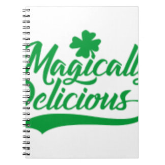 Magically Delicious St. Patrick's Day Notebook
