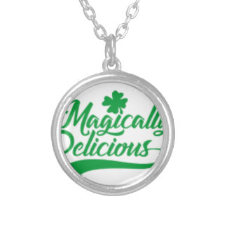Magically Delicious St. Patrick's Day Silver Plated Necklace