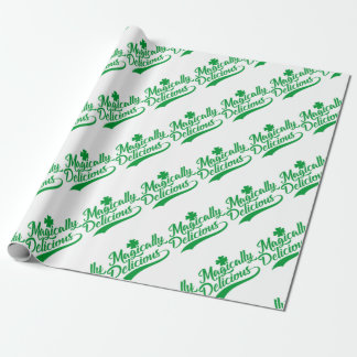 Magically Delicious St. Patrick's Day Wrapping Paper