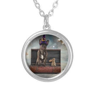 Magician and Friends Silver Plated Necklace
