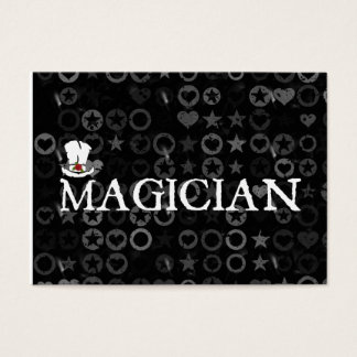 Magician and Hat Business Card