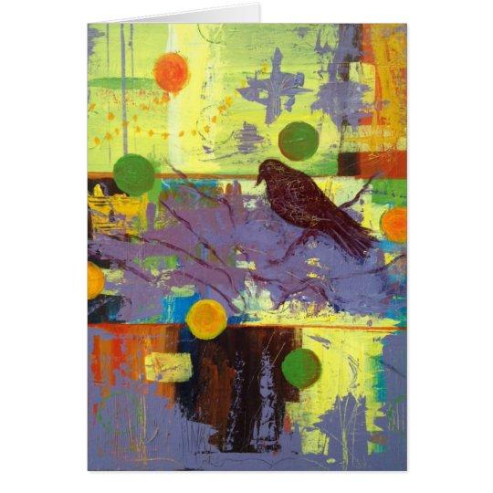 Magician Bird Card