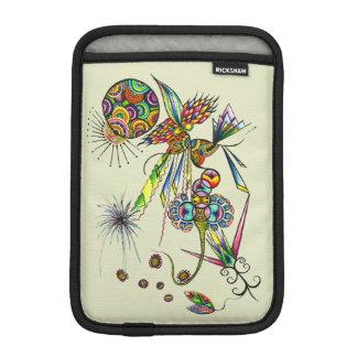 Magician - fantasy character with moon & sun art iPad mini sleeve