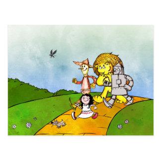 Magician of Oz Postcard