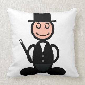 Magician (plain) throw pillow