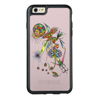 Magician - sun & moon psychedelic character magic OtterBox iPhone 6/6s plus case
