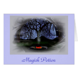 Magick Potion Greeting Card