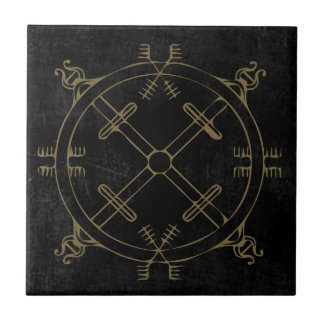 Magick Protection Mandala Tile