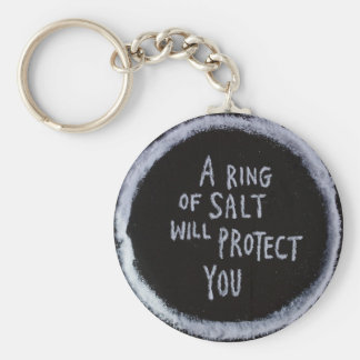 Magick : Salt Basic Round Button Keychain