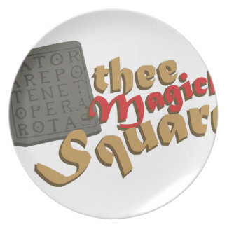 Magick Square Plates