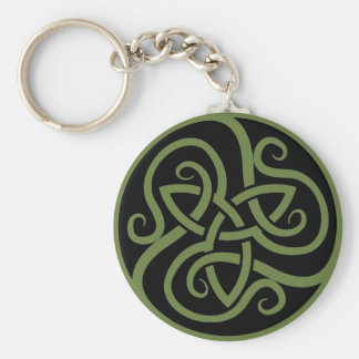 Magick - Triquetra Keychain