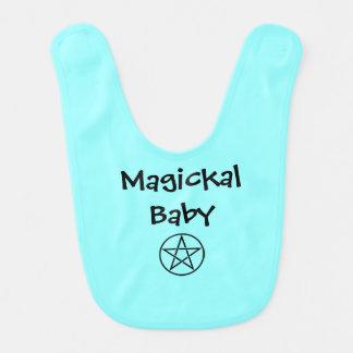 Magickal Baby Pentacle Pagan Wiccan Baby Bib