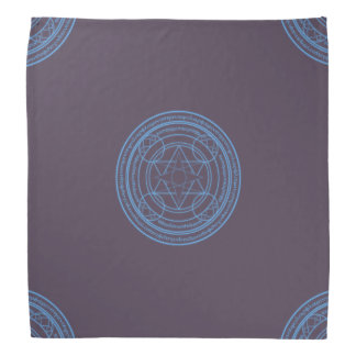 Magickal Circle Tarot Cloth Bandana