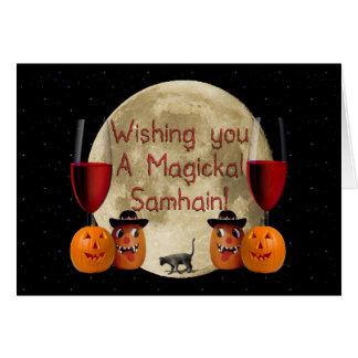 Magickal Samhain Card