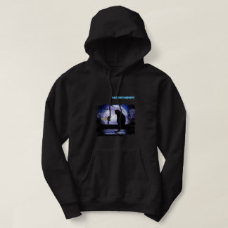 Magicmoon Men's Basic Hooded Sweatshirt
