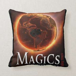 Magics Designer Throw Pillow