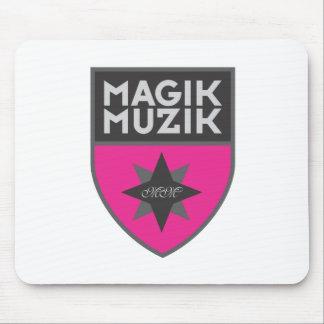 """Magik Muzik """"Pink"""" Mousepad"""
