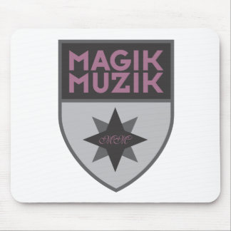 """Magik Muzik """"Purple"""" Mouse Pad"""