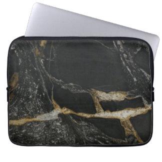 """magma gold granite"" iPad/Laptop Sleeve Laptop Sleeve"