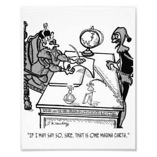 Magna Carta Cartoon 2639 Art Photo