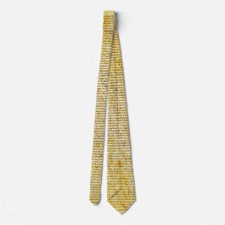 Magna Carta text Tie