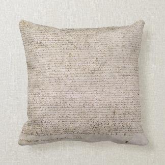 Magna Carta Throw Pillow