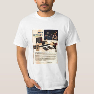 Magnavox Odyssey Game Console Shirts