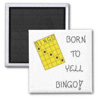 Magnet about Bingo