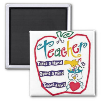 MAGNET & AN APPLE FOR THE **TEACHER*** YOU KNOW