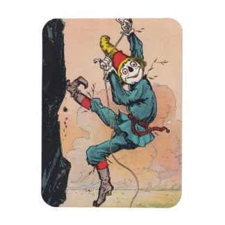 Magnet Antique Scarecrow Rappels Cliff Rock Climb