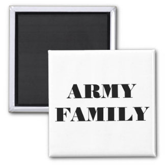 Magnet Army Family