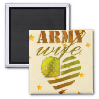 "Magnet ""ARMY Wife """