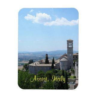 Magnet--Assisi Rectangular Photo Magnet